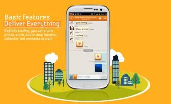 ChatON Samsung aplikácia
