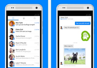 Facebook změnil Messenger pro Android, přidal zprávy aj na telefonní číslo