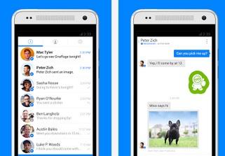 Facebook Messenger aplikácia