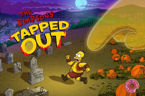 Tapped Out Halloweensky špeciál