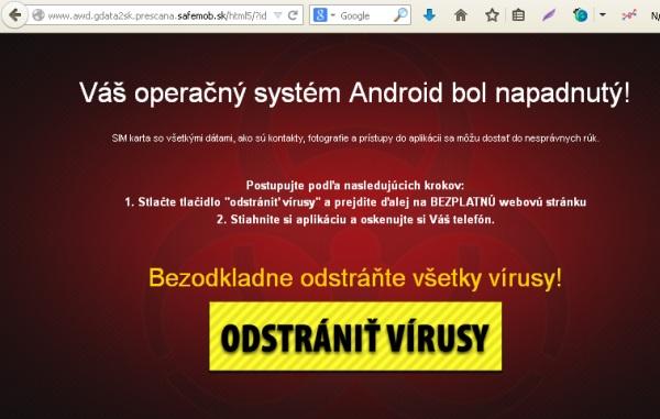 Falošný vírus